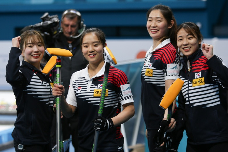 Hosts secure place in women's final at Pacific-Asia Curling Championships