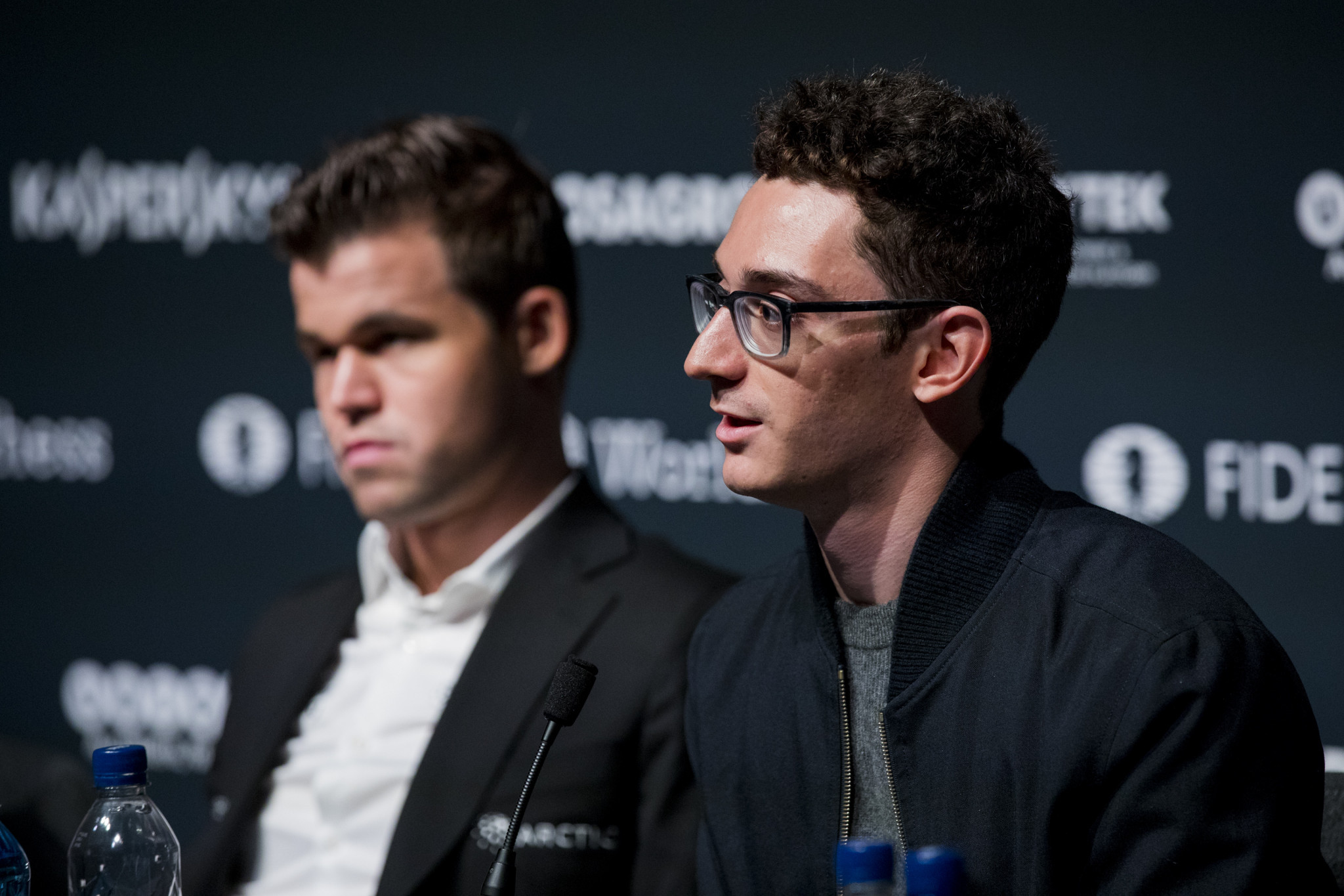 Carlsen set to defend world chess title against Caruana as women's champion Ju's title defence proceeds smoothly