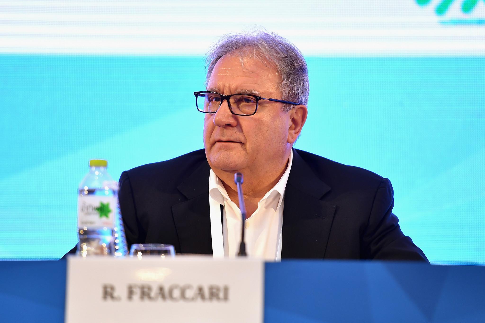 WBSC President Riccardo Fraccari has said that the WBSC is