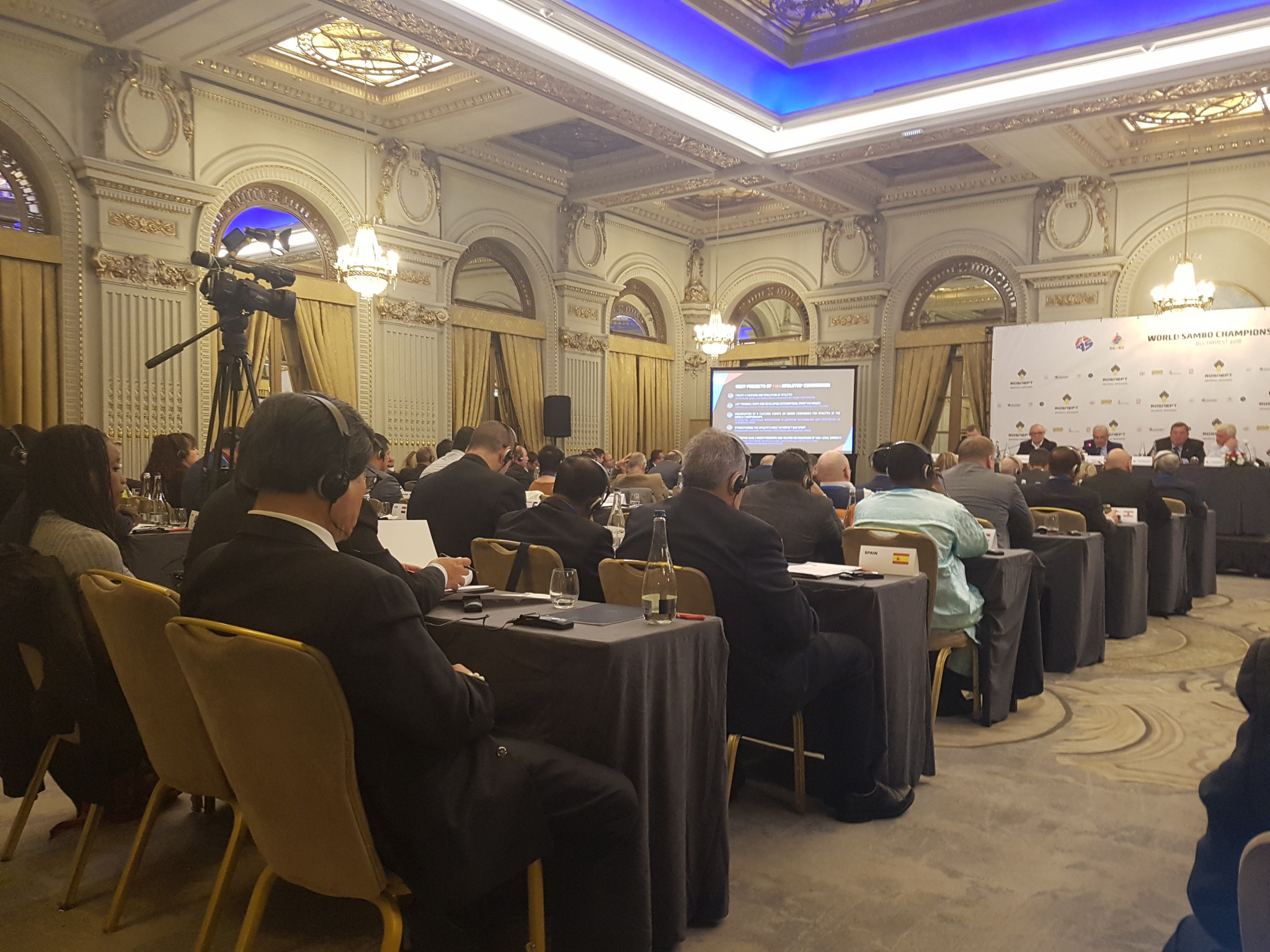 Representatives from 73 different member Federations were present at the Congress ©ITG