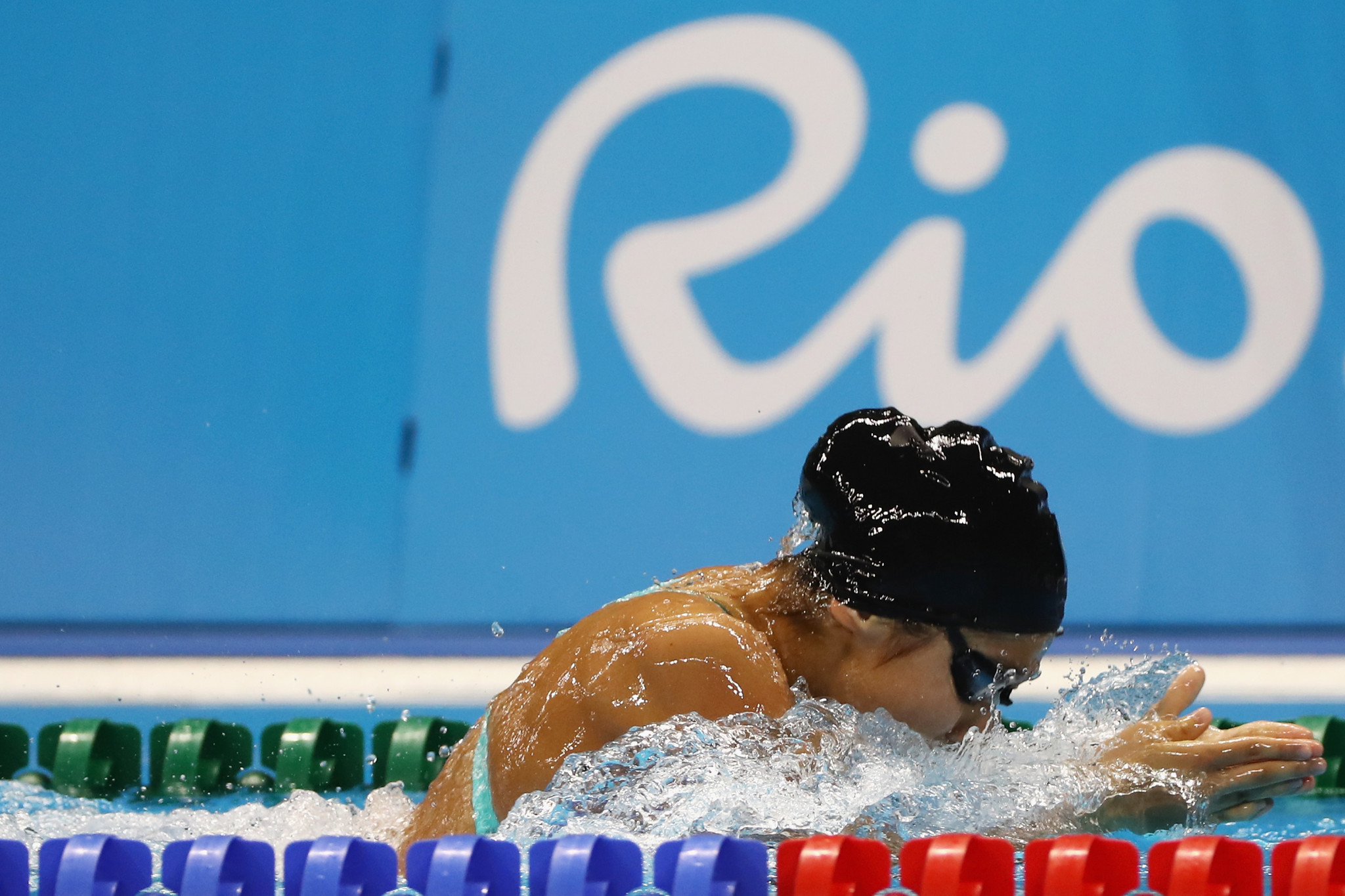 Uzbek swimmer Amilova Fotimakhon was among the nominees ©Getty Images
