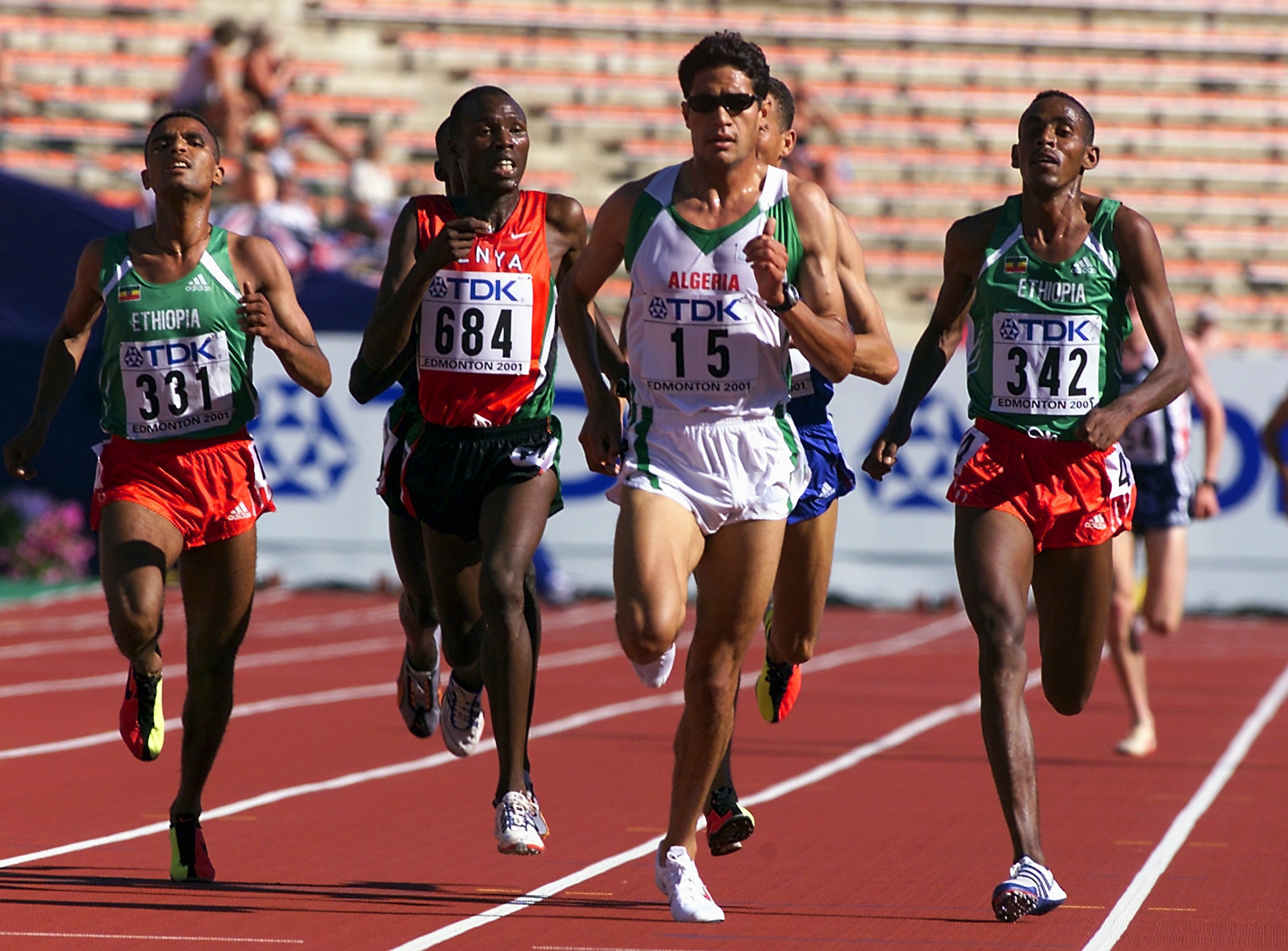 Olympic silver medallist Ali Saidi-Sief of Algeria was stripped of his 2001 5,000m World Championships silver medal for doping ©Getty Images