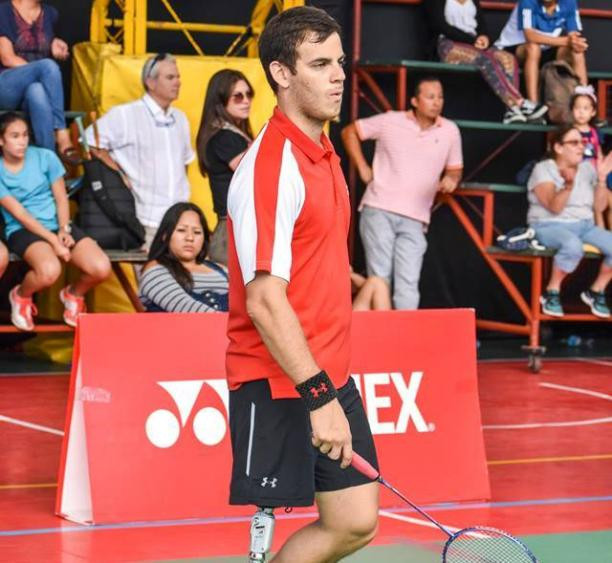 Peru's players, including Pedro Pablo De Vinatea, have started brightly at the Para Pan American Championships in Lima ©Luis Kanashiro Photography