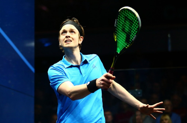 Britain's Commonwealth silver medallist James Willstrop is among those articulating the frustration at the continuing failure of squash to gain the ear of decision-makers within the IOC ©Getty Images