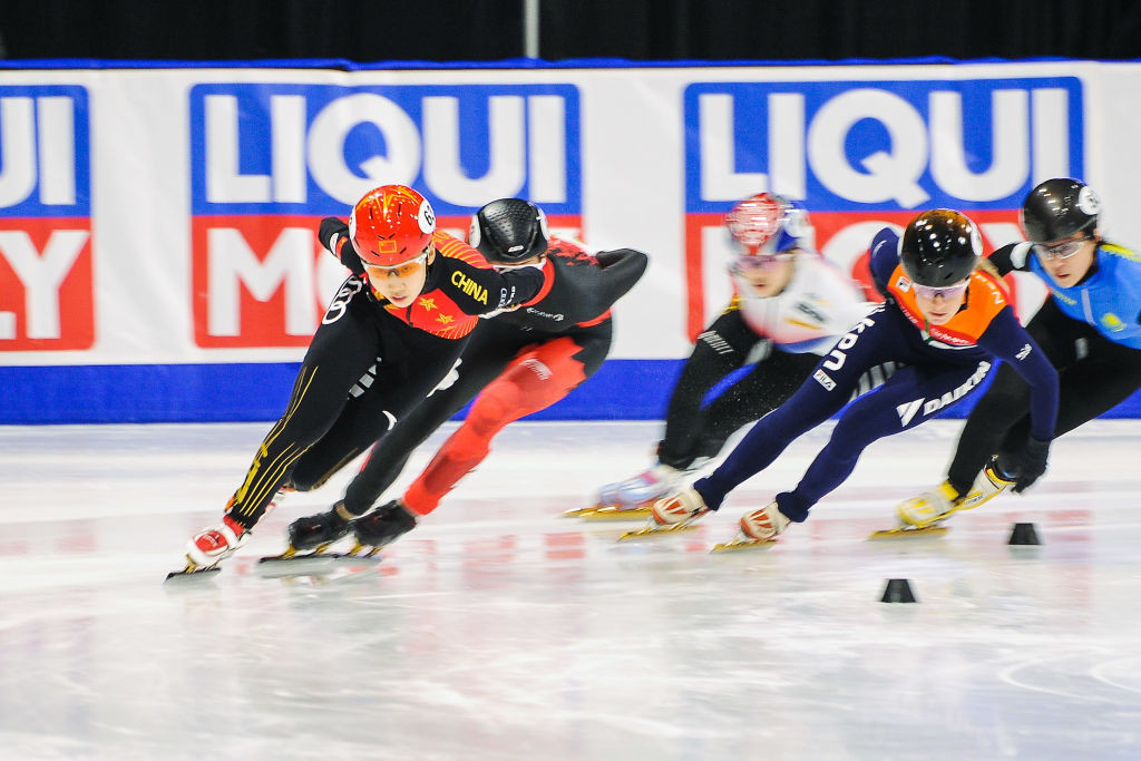 The world's top short track skaters will be heading to the US for the chance to pick up World Cup points ©ISU