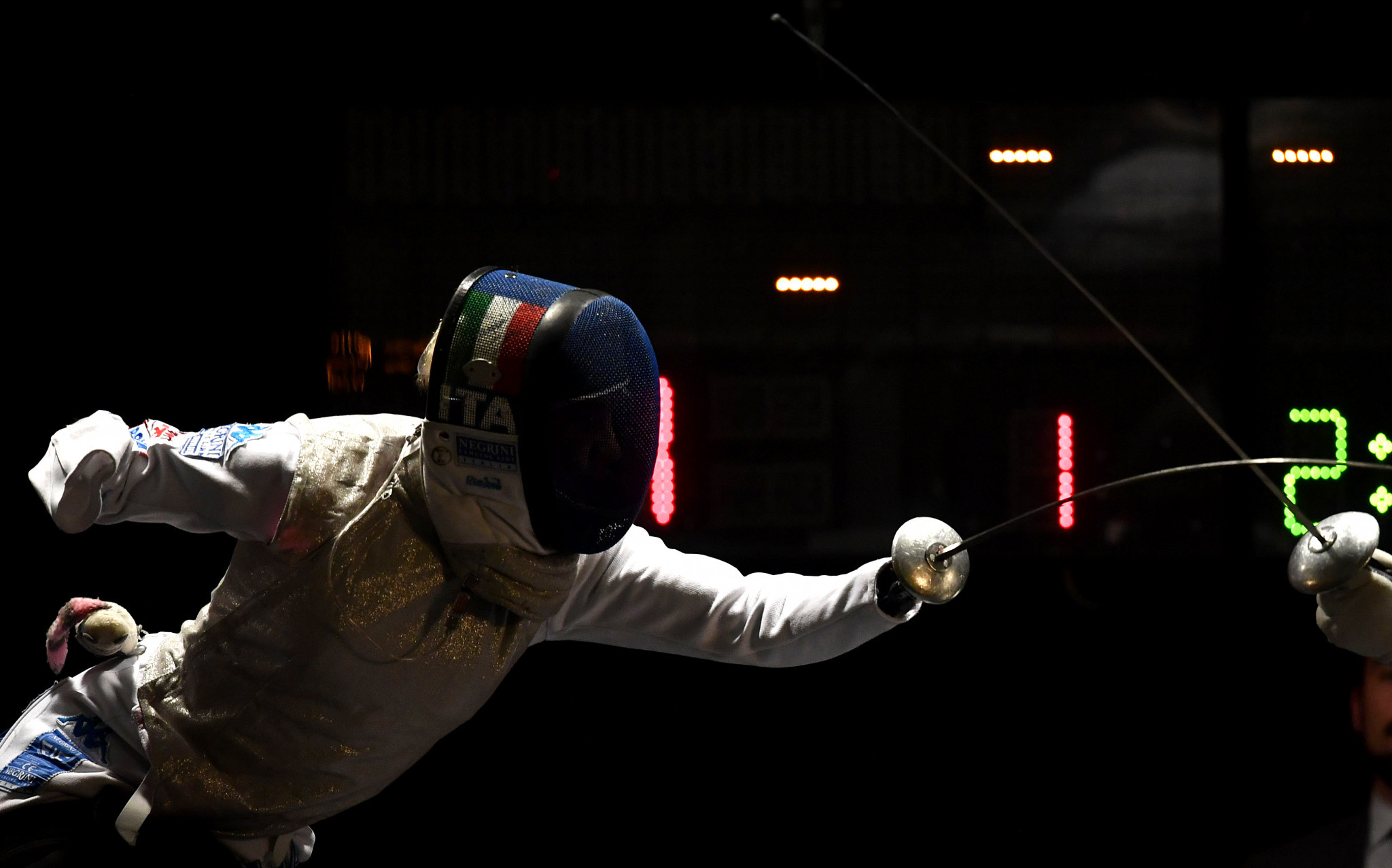 Italy's Paralympic champion Vio takes Wheelchair Fencing World Cup foil gold in Tbilisi