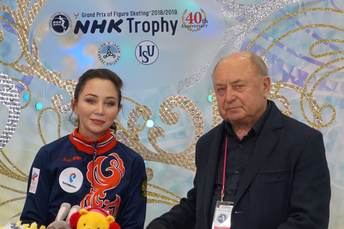 Tuktamysheva narrowly leads after day one at ISU Grand Prix of Figure Skating in Japan