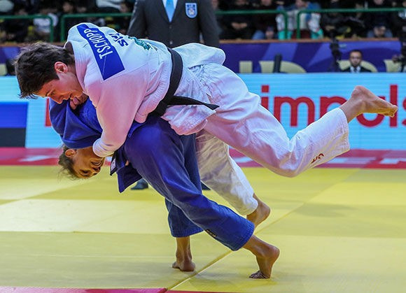 Golden start for Kosovo at IJF Tashkent Grand Prix