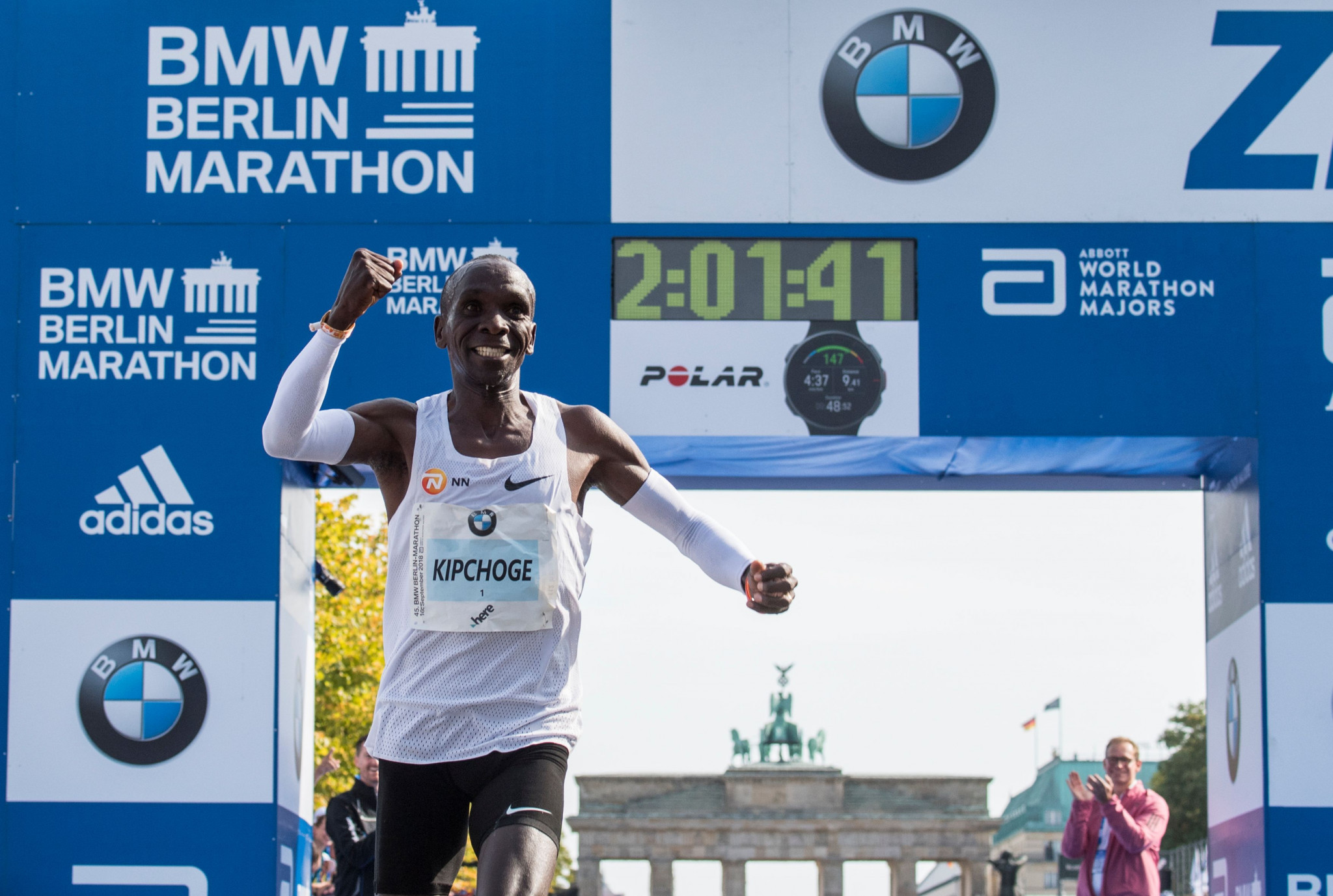 Kipchoge and Cherono named Best Marathon Runners of 2018