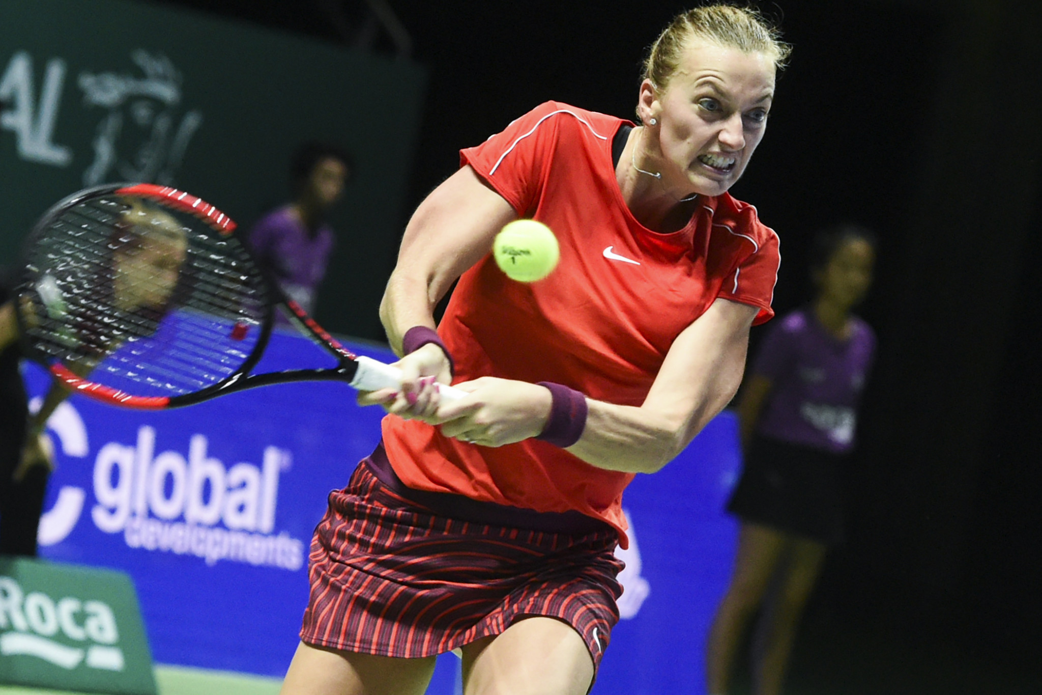 Kvitova joins Pliskova on the sidelines as Czech Republic face holders United States in Fed Cup final