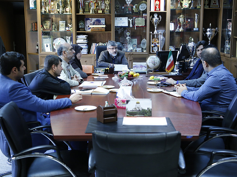 President of Iran Taekwondo Federation visits Kish Island to prepare for upcoming events