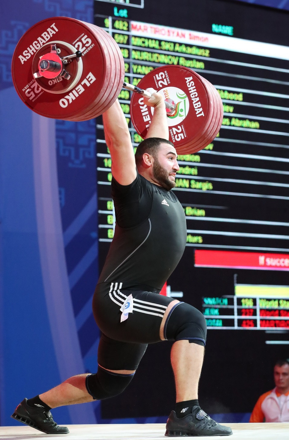 Armenia's Martirosyan claims maiden global crown with men's 109kg triumph at 2018 IWF World Championships
