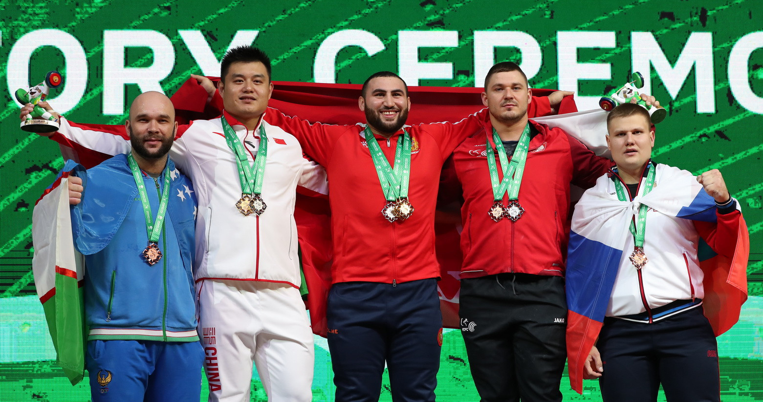 Armenia's Martirosyan shines on day nine of 2018 IWF World Championships as China increase gold medal tally