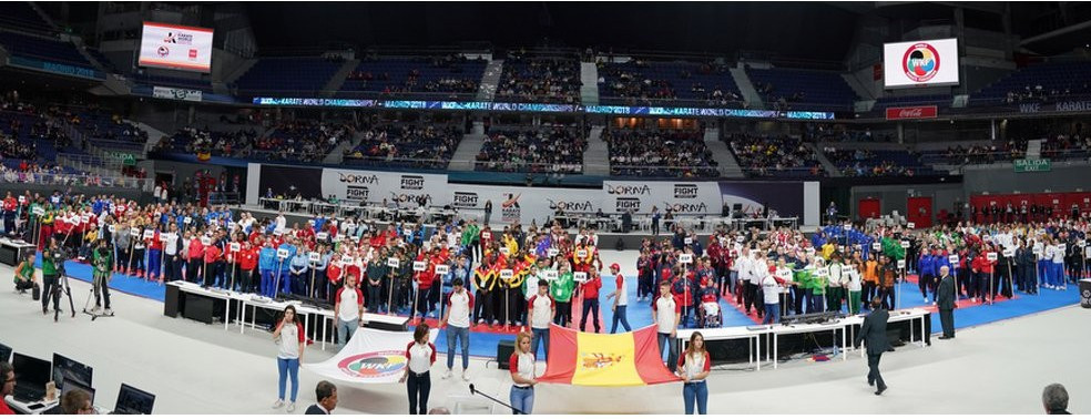 Kosovo did not take part in the Opening Ceremony in Madrid yesterday ©WKF