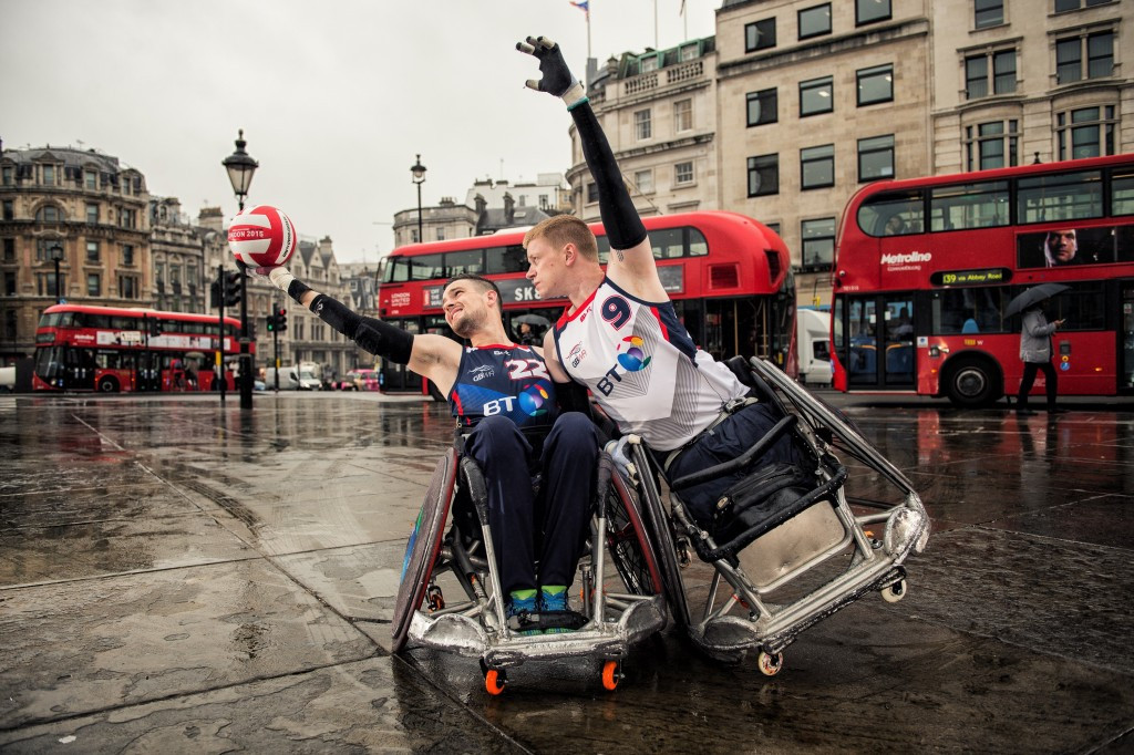 Great Britain Wheelchair Rugby have announced a 12-man team for the tournament ©GBWR