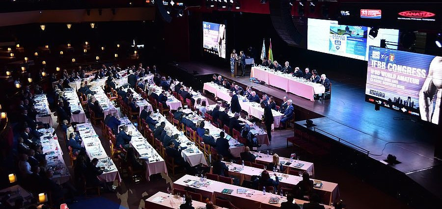 The 2018 IFBB World Congress was held today in the Benidorm Palace ©Jakob Csontos/EastLabs