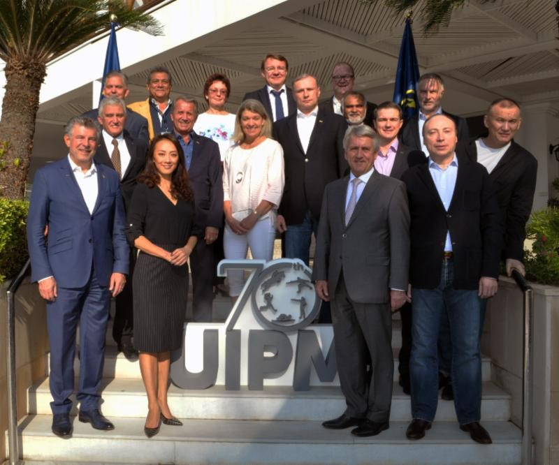 International Modern Pentathlon Union gives Board members OLY status before biannual Congress
