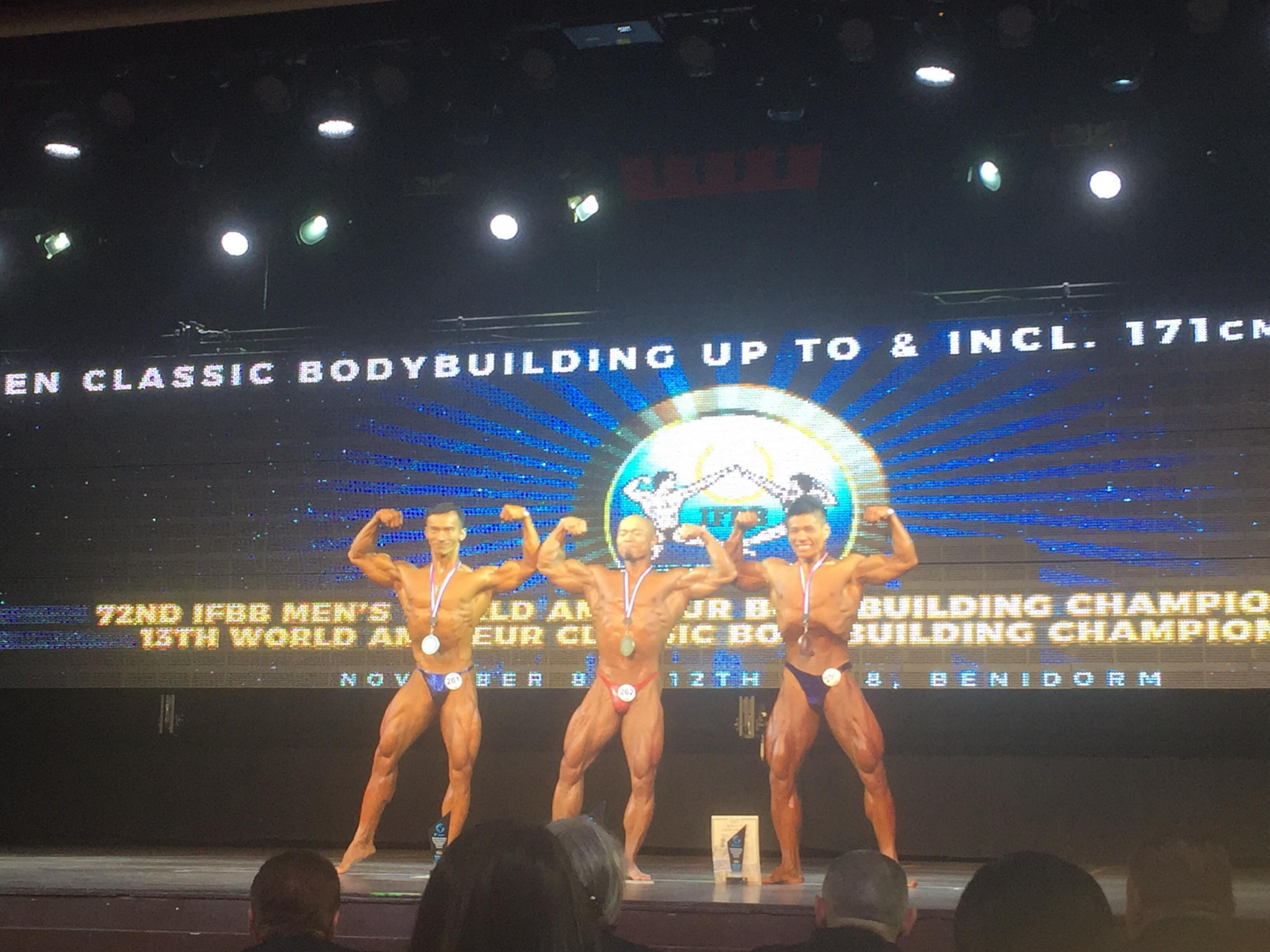 Chinese and Iranian success on first day of IFBB Men's World Bodybuilding Championships