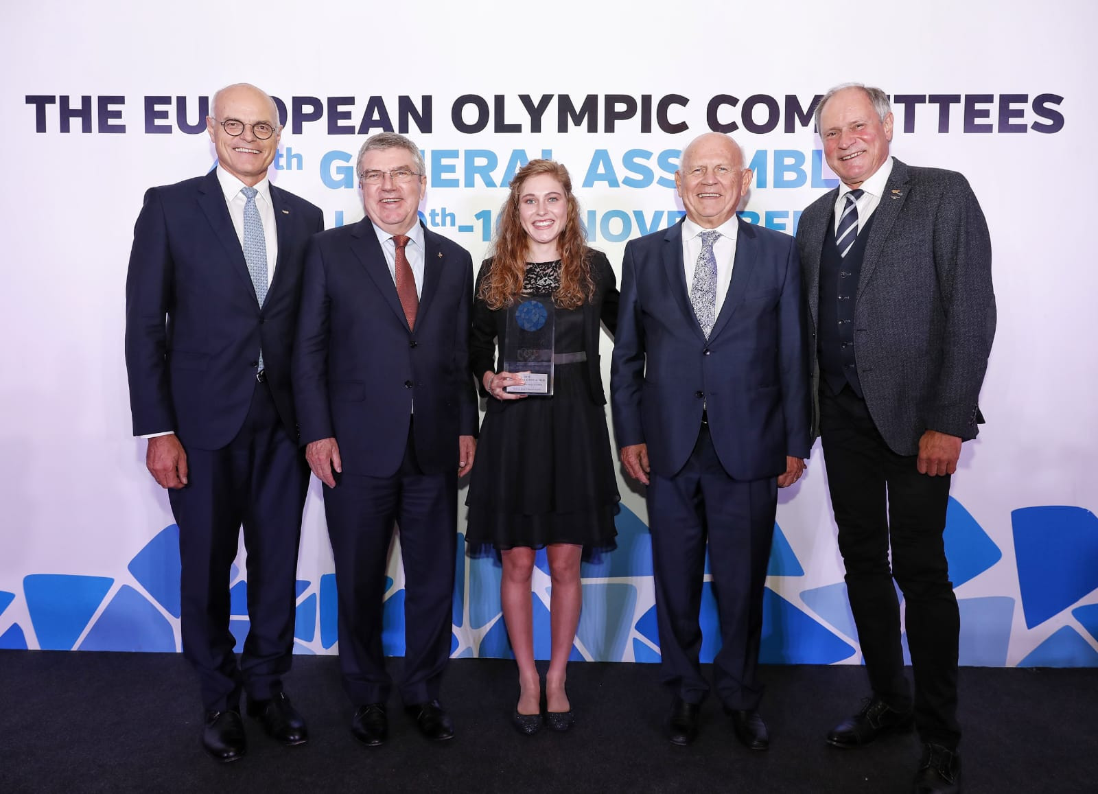 Laura Stigger was named winner of the summer edition of the Piotr Nurowski prize ©EOC