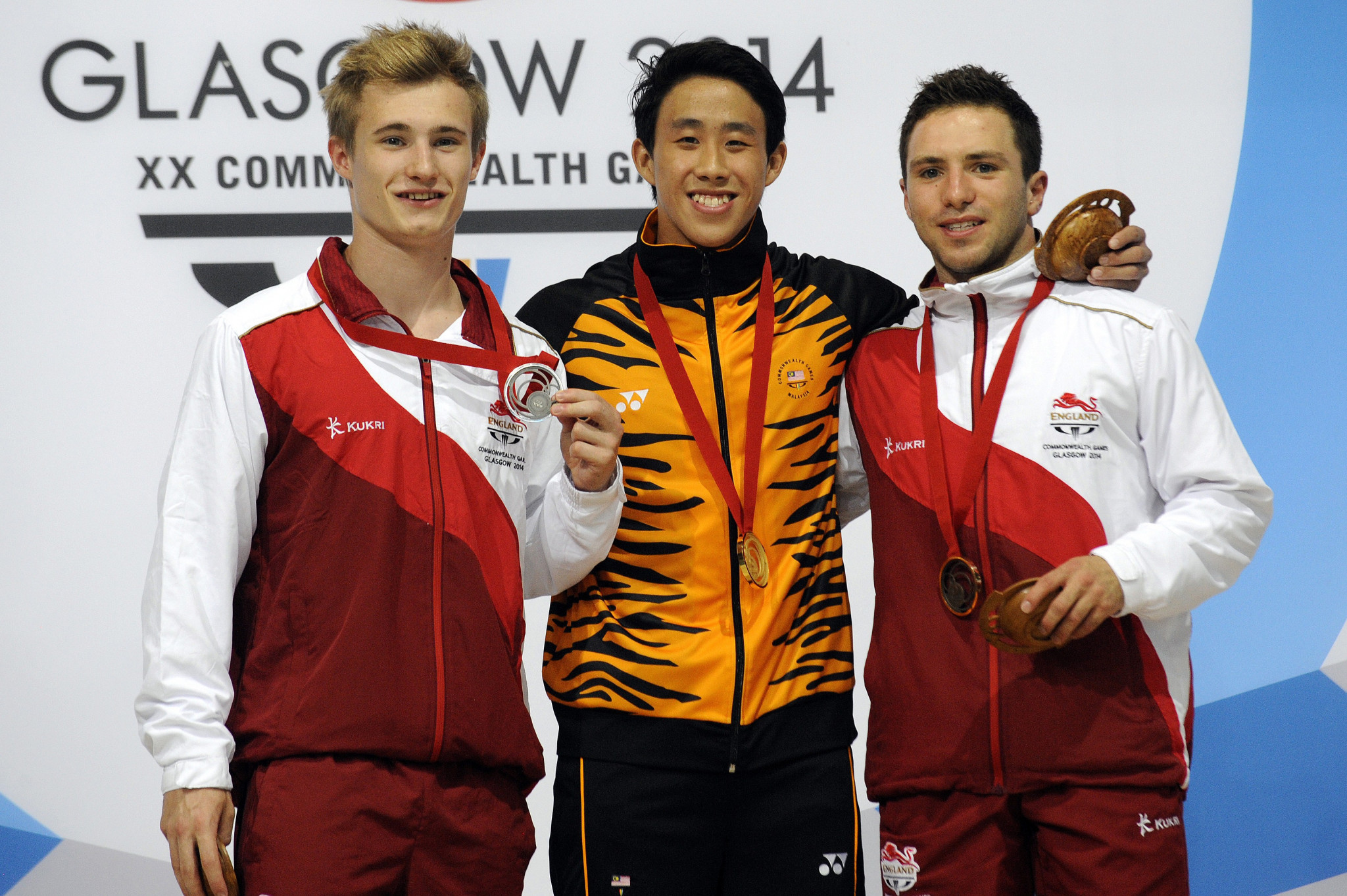 Ooi Tze Liang won gold at the 2014 Glasgow Commonwealth Games ©Getty Images