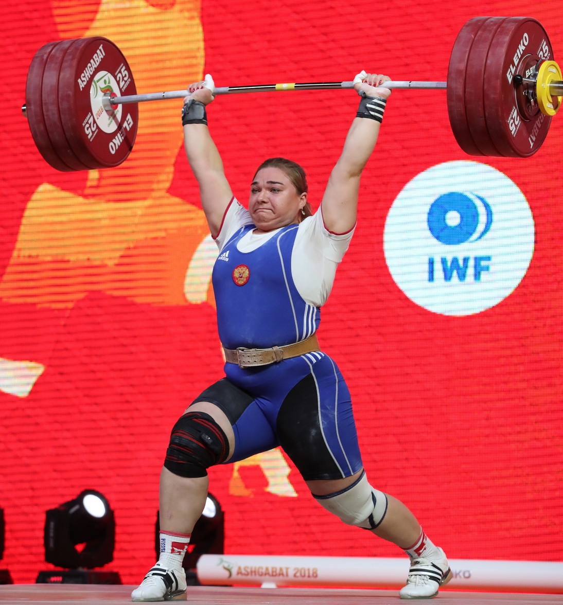 Kashirina boosts Russia's gold medal tally to five after sensational performance on final day of 2018 IWF World Championships
