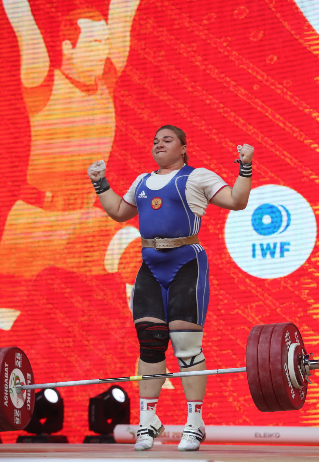 Russia's Kashirina and Georgia's Talakhadze claim top honours on dramatic final day at 2018 IWF World Championships