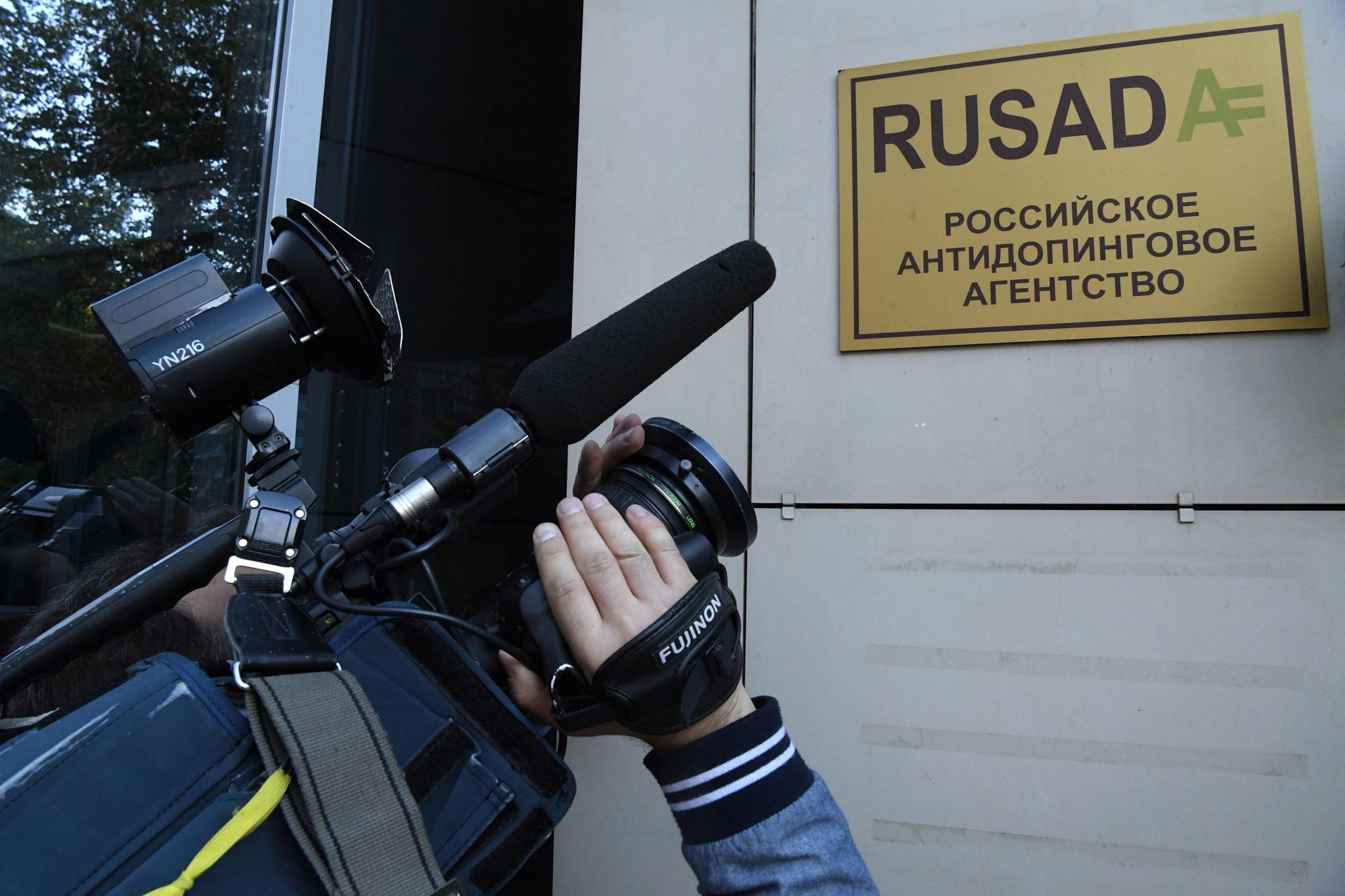 The reinstatement of RUSADA has caused widespread debate ©Getty Images