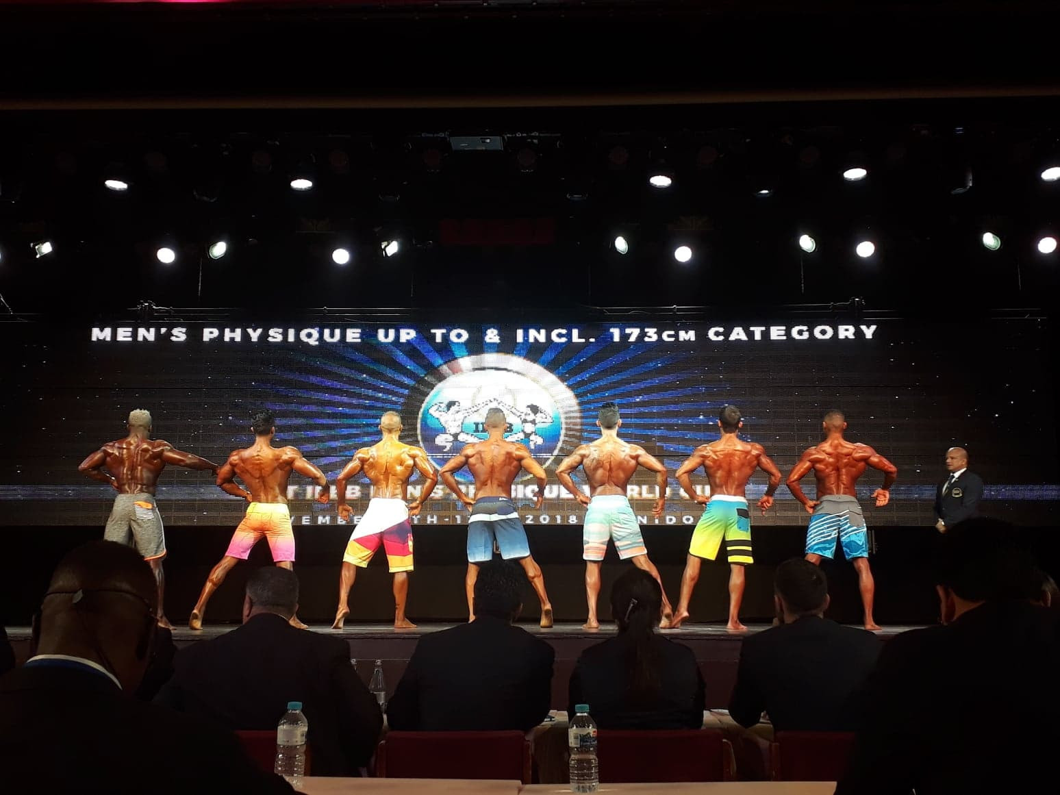 IFBB World Bodybuilding Championships: Day one of competition
