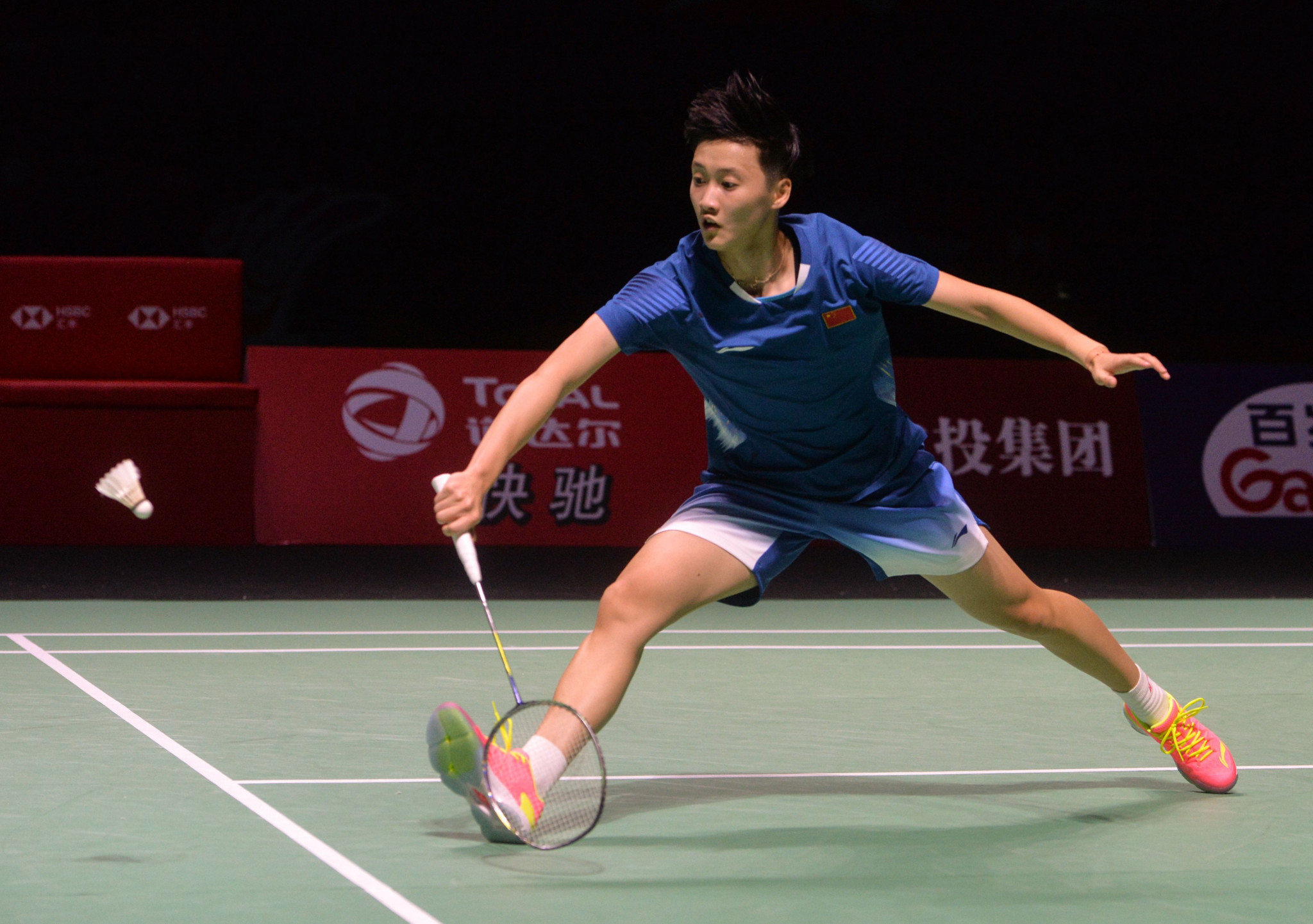 China's Chen Yufei ended the run of Carolina Marin ©Getty Images