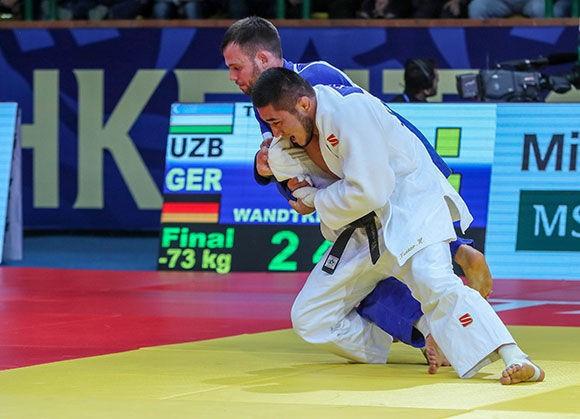 Home victory for Uzbekistan's Turaev at IJF Tashkent Grand Prix