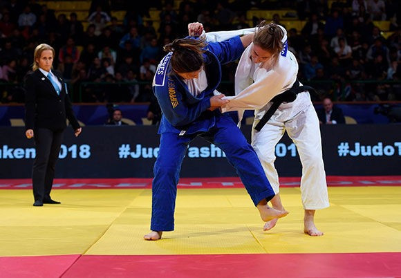 As well as the hosts, Austria had much to celebrate on day two of the IJF Tashkent Grand Prix ©IJF