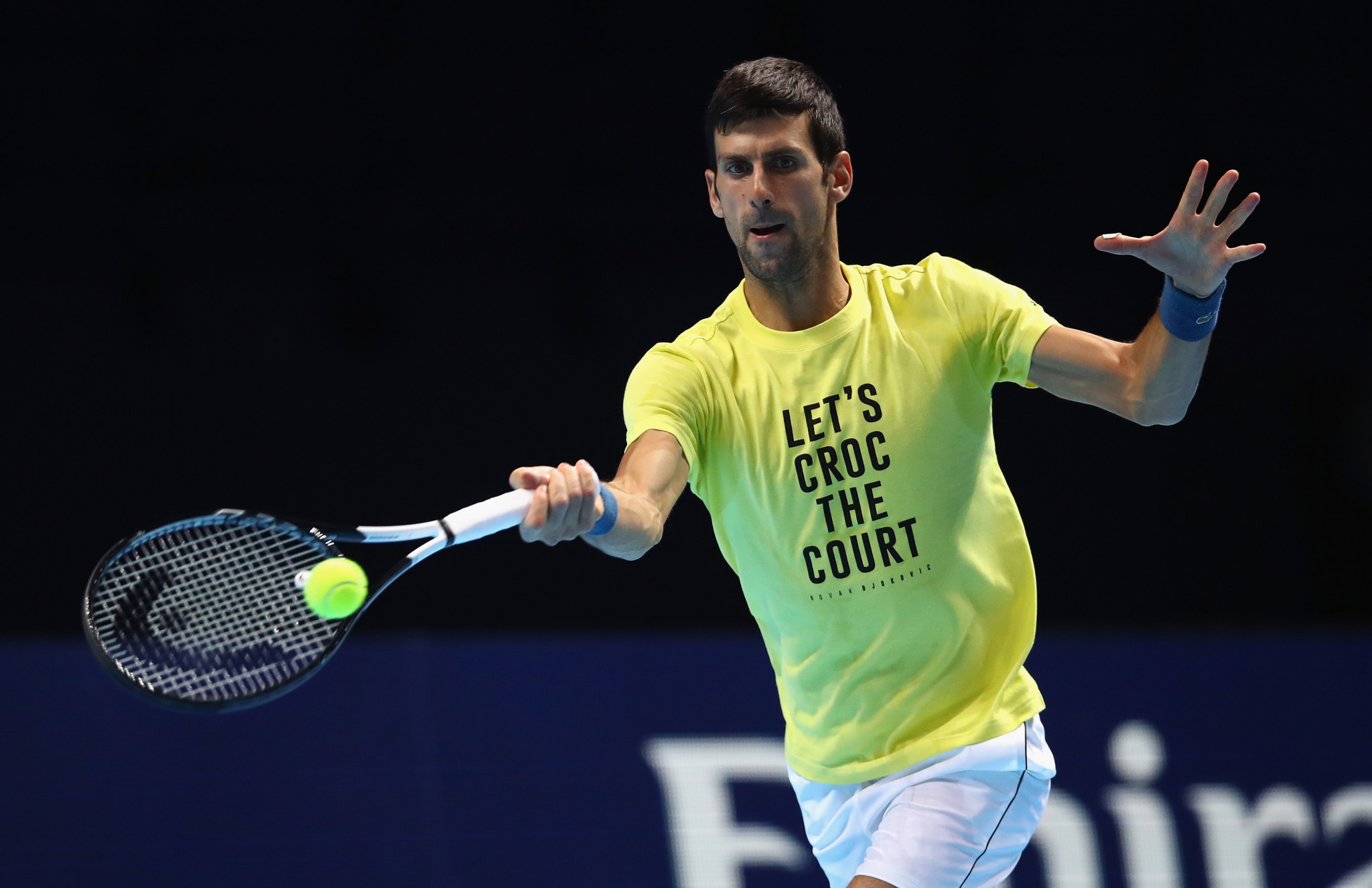 World number one Djokovic bids for sixth ATP Finals title