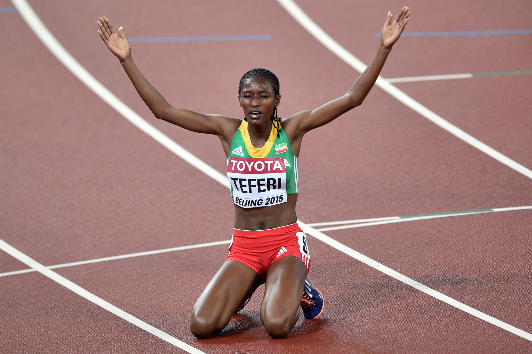 Senbere Teferi will look for a third women's title ©Getty Images