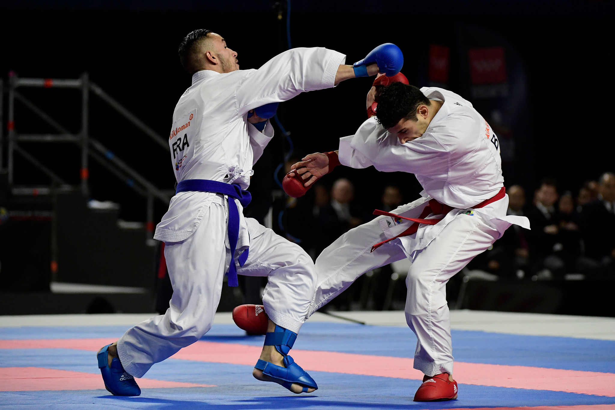 Karate World Championships: First day of medal action