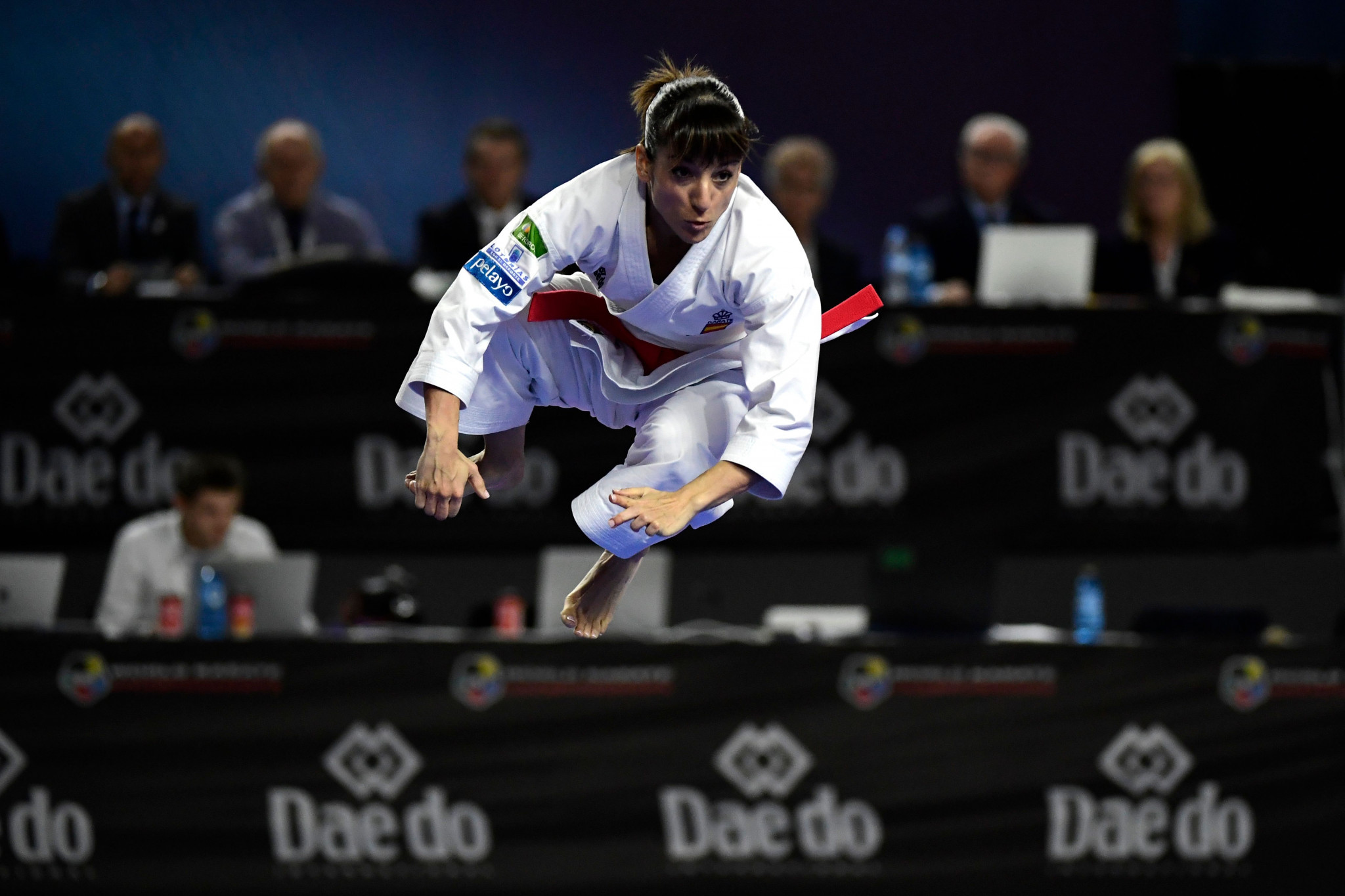 Sanchez delivers home kata gold as defending champions dethroned at Karate World Championships