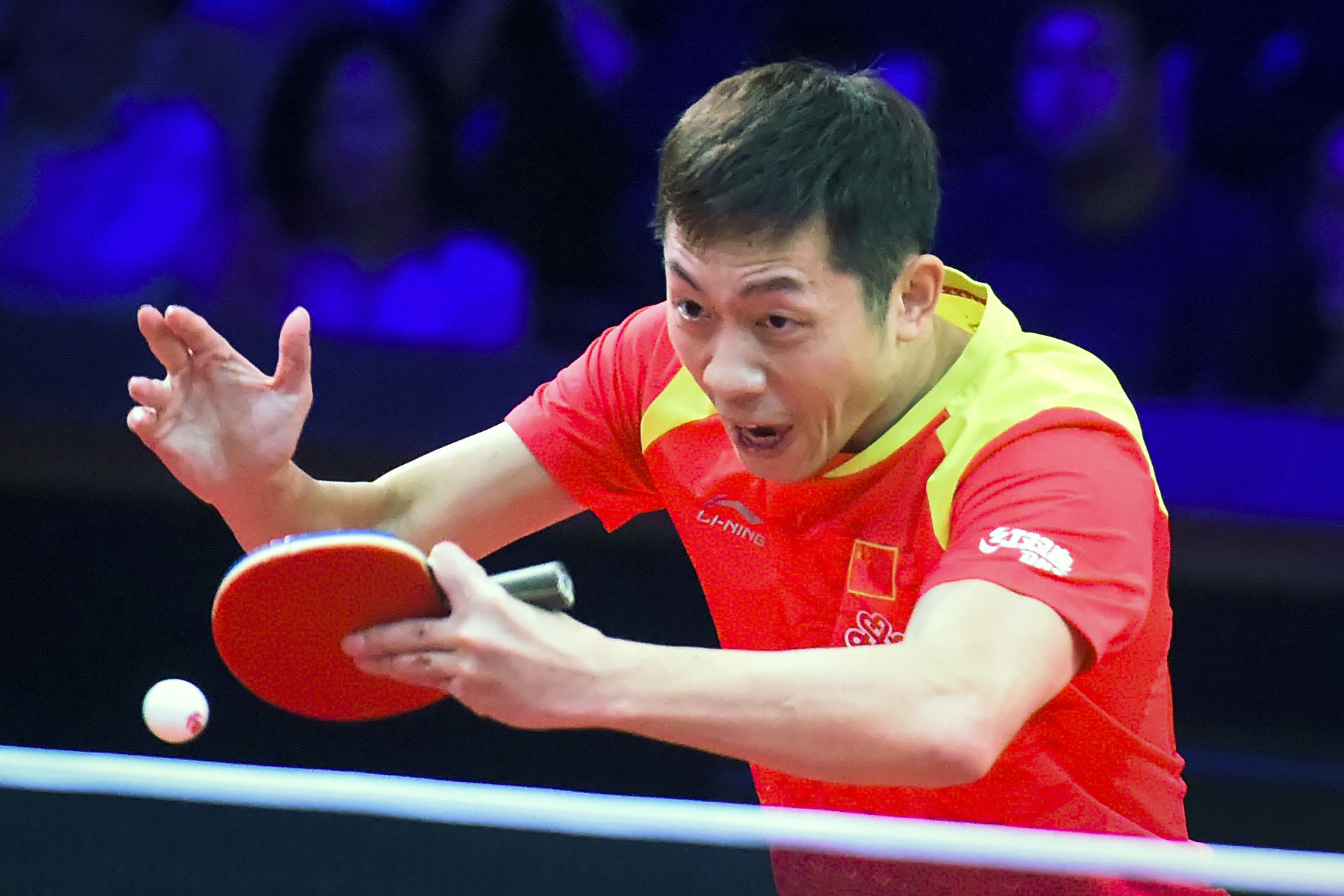 Xu wins mixed doubles title and reaches men's singles final at ITTF Austrian Open