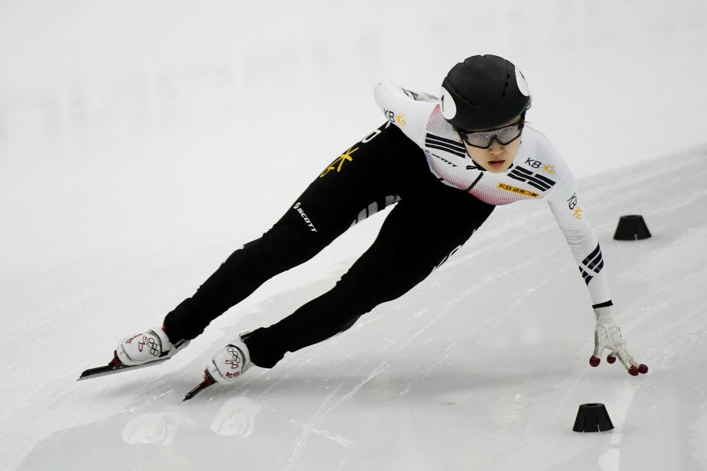 Double Olympic gold medallist Choi Min-jeong showed a return to form ©ISU
