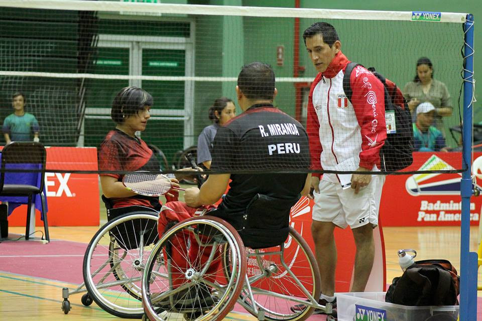 Peru on course for successful Pan American Para Badminton Championships with four players in finals