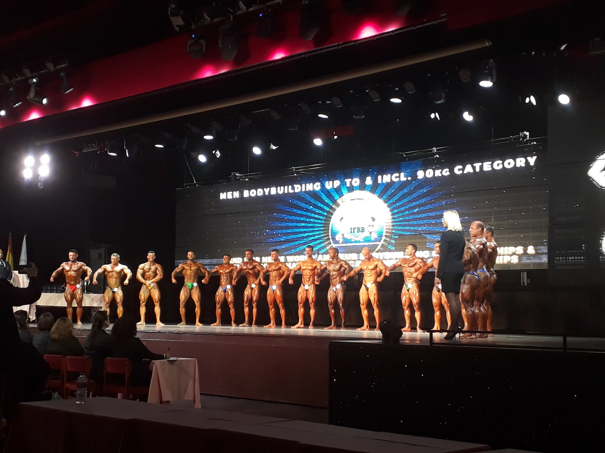 IFBB World Bodybuilding Championships: Day two of competition