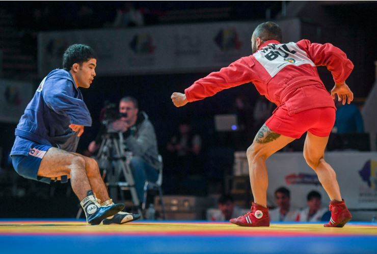 2018 Sambo World Championships: Final medal action and Closing Ceremony