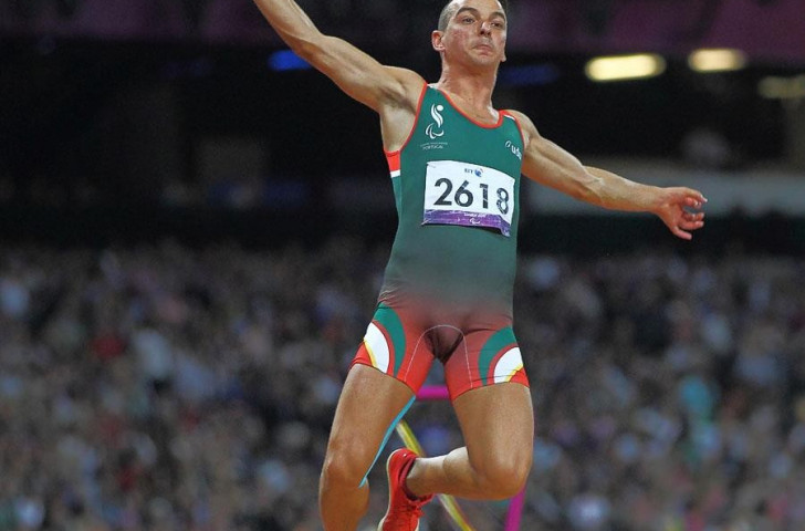 Portugal's Lenine Cunha is one of two nominees for the Best Male Athlete in the INAS Awards