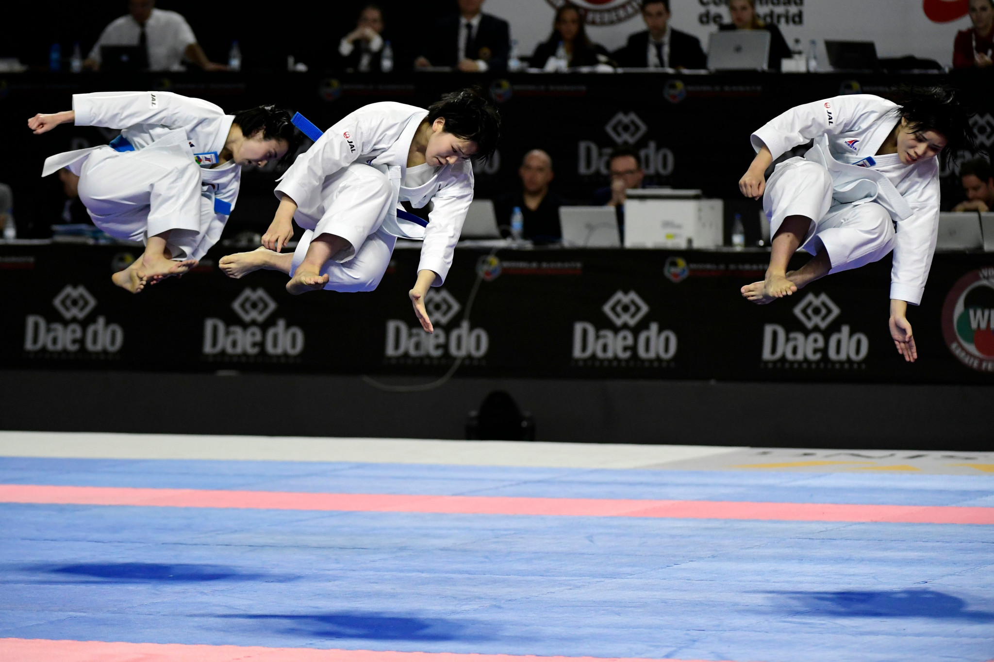 Japan and Iran strike gold as WKF flag passed to 2020 hosts Dubai at Karate World Championships