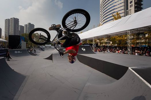 US riders won the men's and women's BMX freestyle titles as the UCI Urban Cycling World Championships concluded in Chengdu, China ©UCI