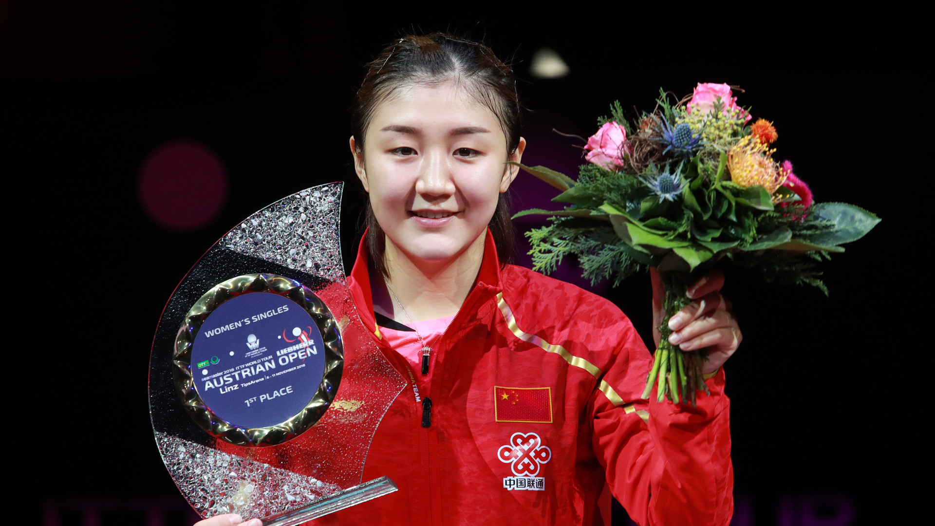 China's Chen Meng had a relatively easy win to take the women's singles title at the ITTF Austrian Open in Linz ©Getty Images