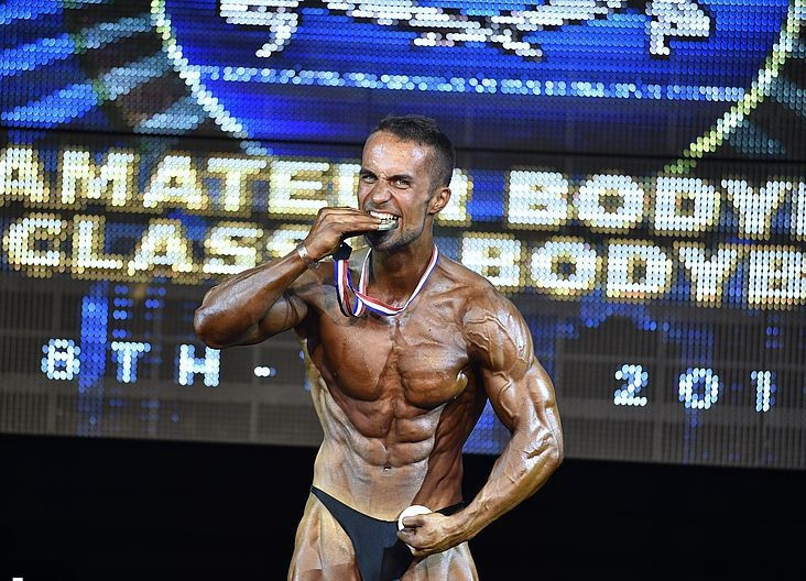 The Czech Republic's Jan Palenicek was named the overall games classic bodybuilding champion after winning the +175cm category at the IFBB Men's World Bodybuilding Championships in Benidorm ©Jakub Csontos/EastLabs