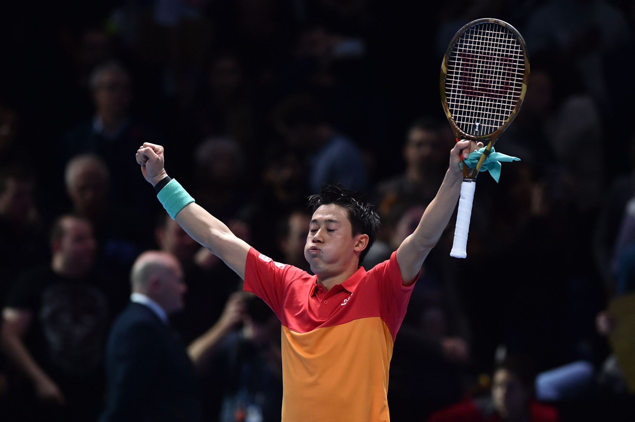 Nishikori shocks Federer in opening ATP Finals match with straight-sets win