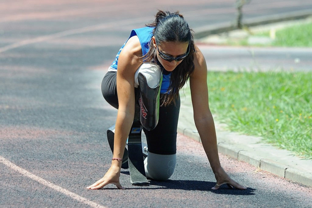 Giusy Versace is the latest star of video series ahead of IPC Athletics World Championships