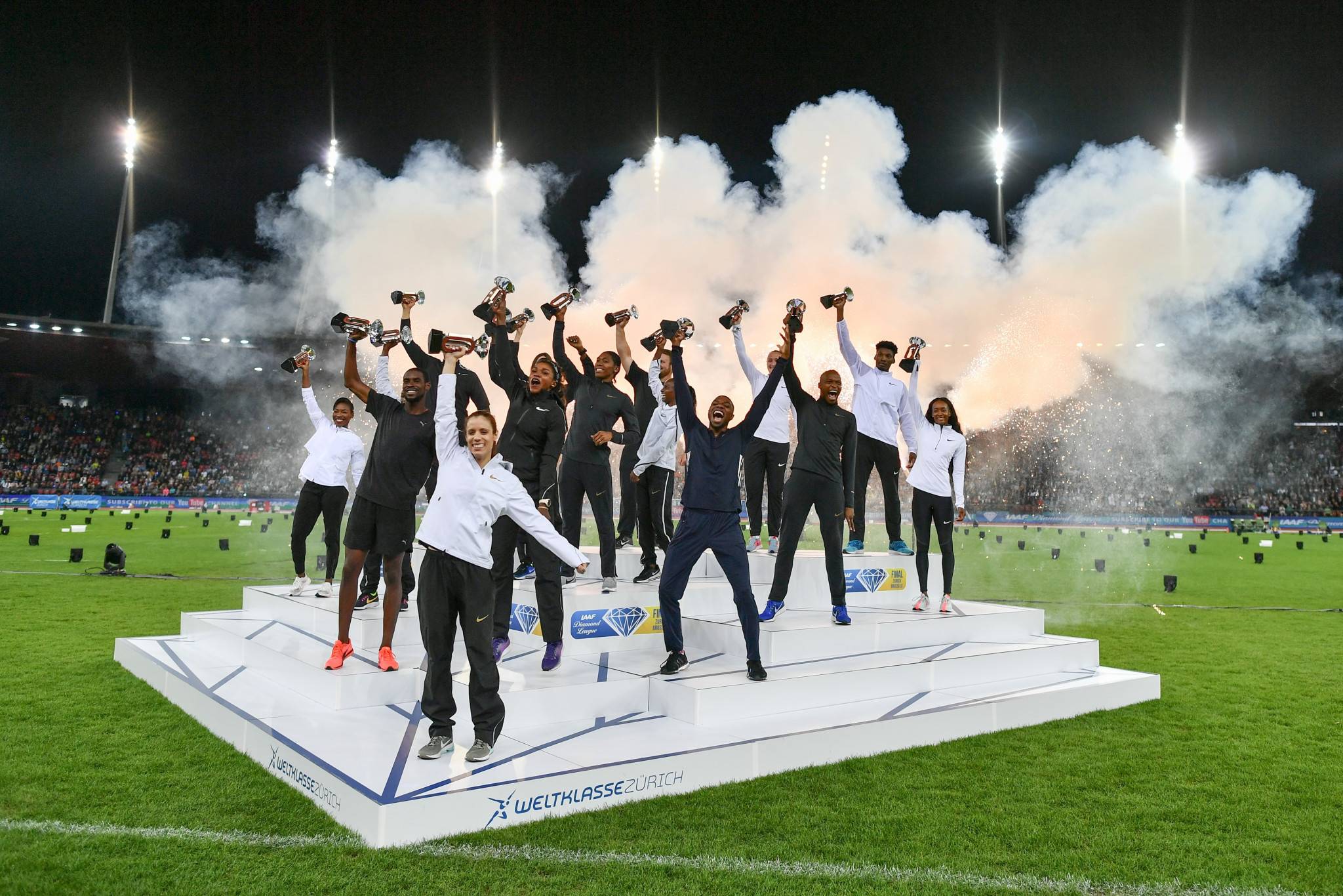 Critics argue the proposed new system in its current form would unfairly favour athletes in the IAAF Diamond League ©Getty Images