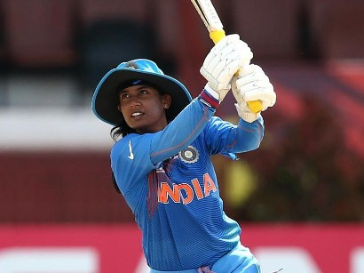 Mithali Raj inspired India's win over Pakistan with a half century ©ICC