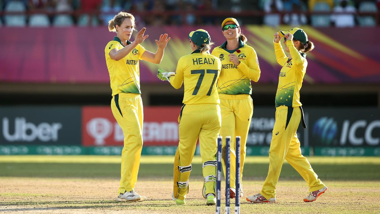 Three-time champions Australia have made a flawless start to this year's championships in the West Indies ©ICC